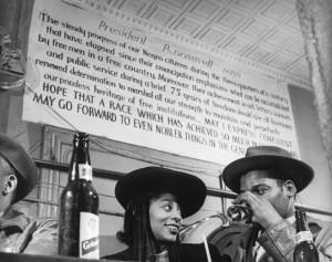 Couple Sitting at a Bar